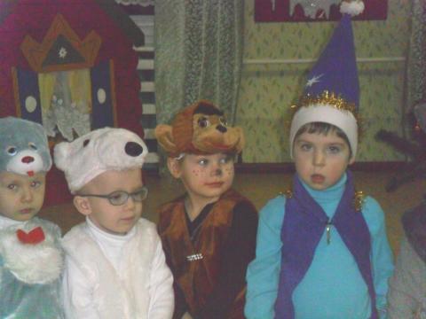 Новый год в младшей группе