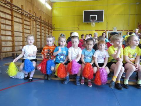 Малыши перед началом конкурса