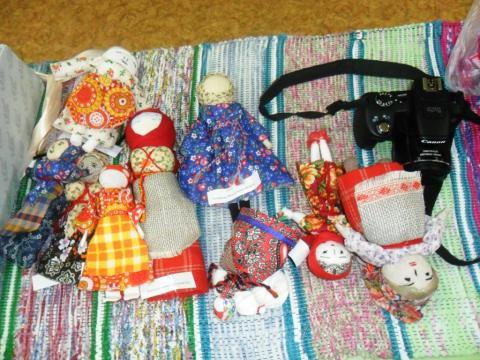 Куклы-обереги Клюкиной Е.Г.