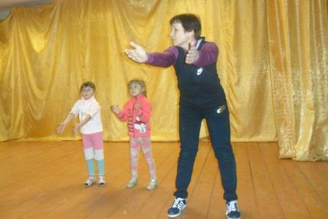 Учим движения танца